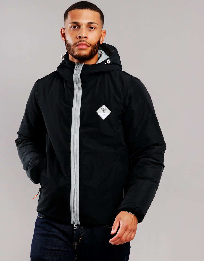 Barbour Beacon Leith Casual Jacket Black