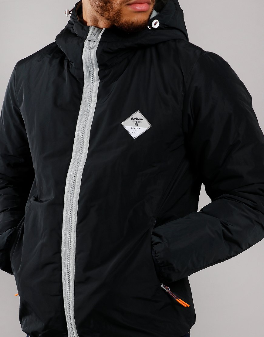 Barbour Beacon Leith Casual Jacket Black