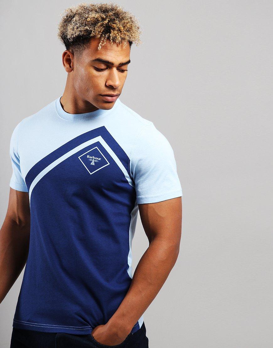 Barbour Beacon Lynch T-Shirt Light Blue