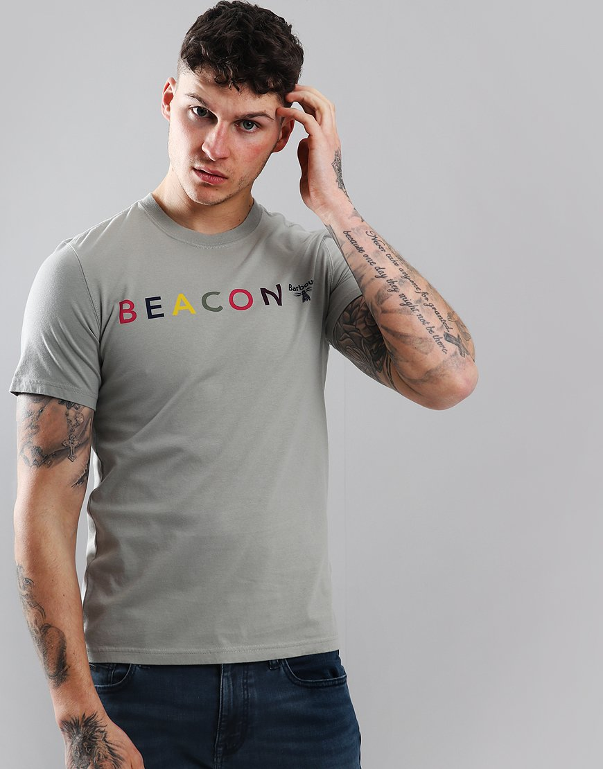 Barbour Beacon Multi T-Shirt Smoke