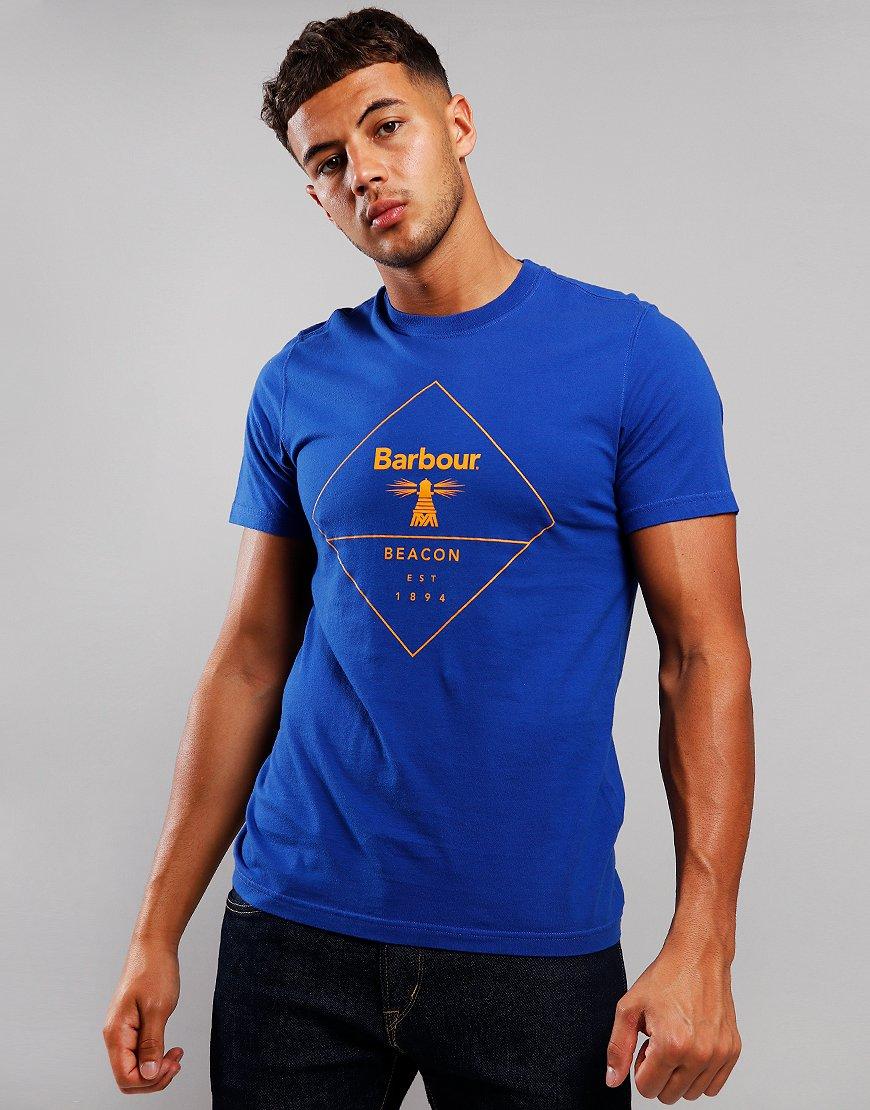 Barbour Beacon Outline T-Shirt Sea Blue