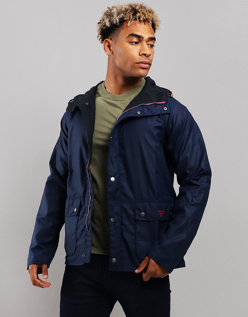 Barbour Beacon Pass Wax Jacket Regal