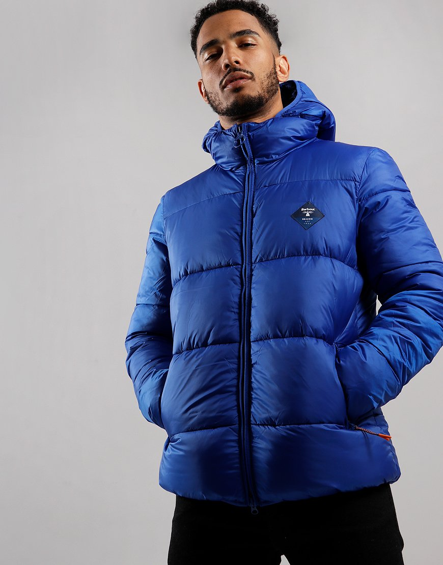 Barbour Beacon Ross Quilted Jacket Charge Blue
