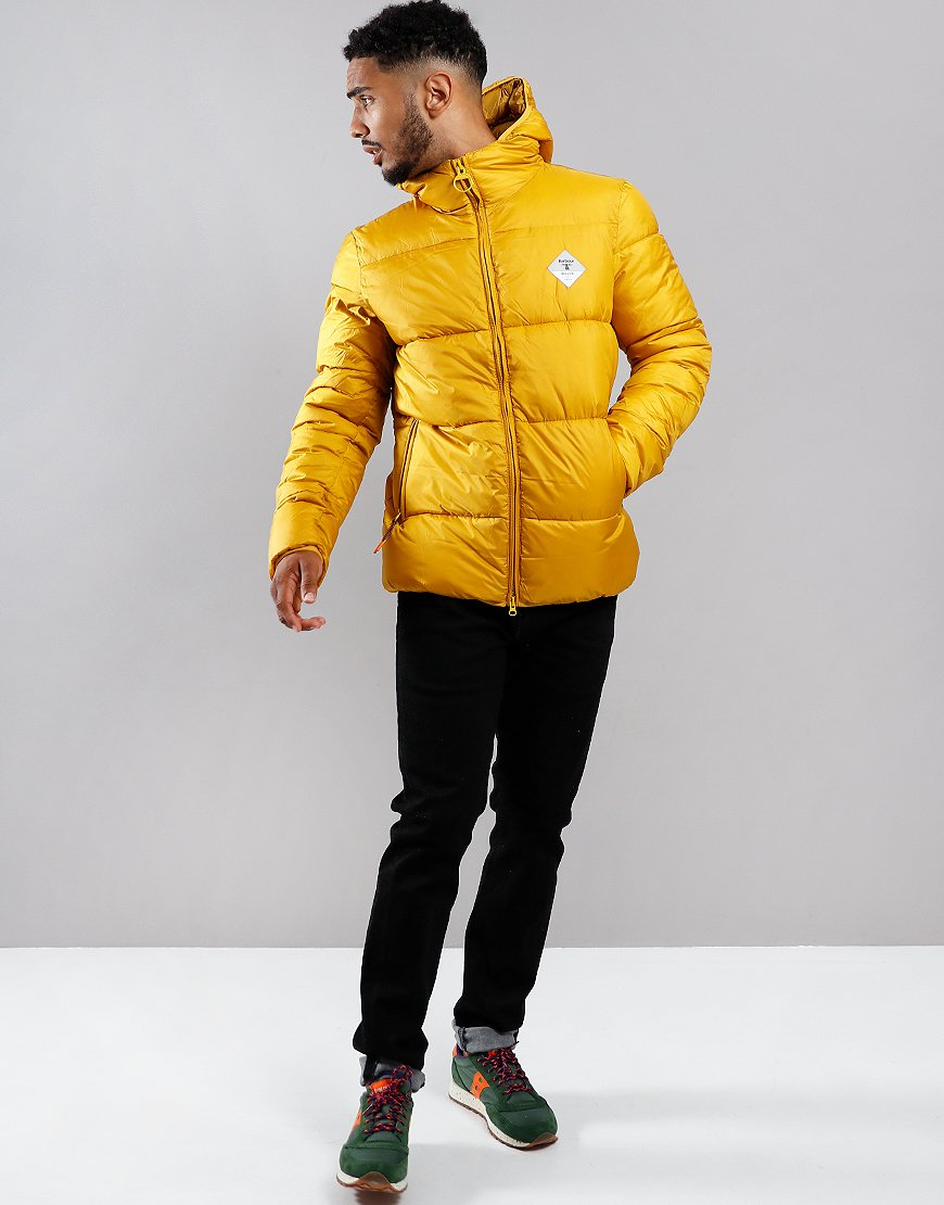 Barbour Beacon Ross Quilted Jacket Gold