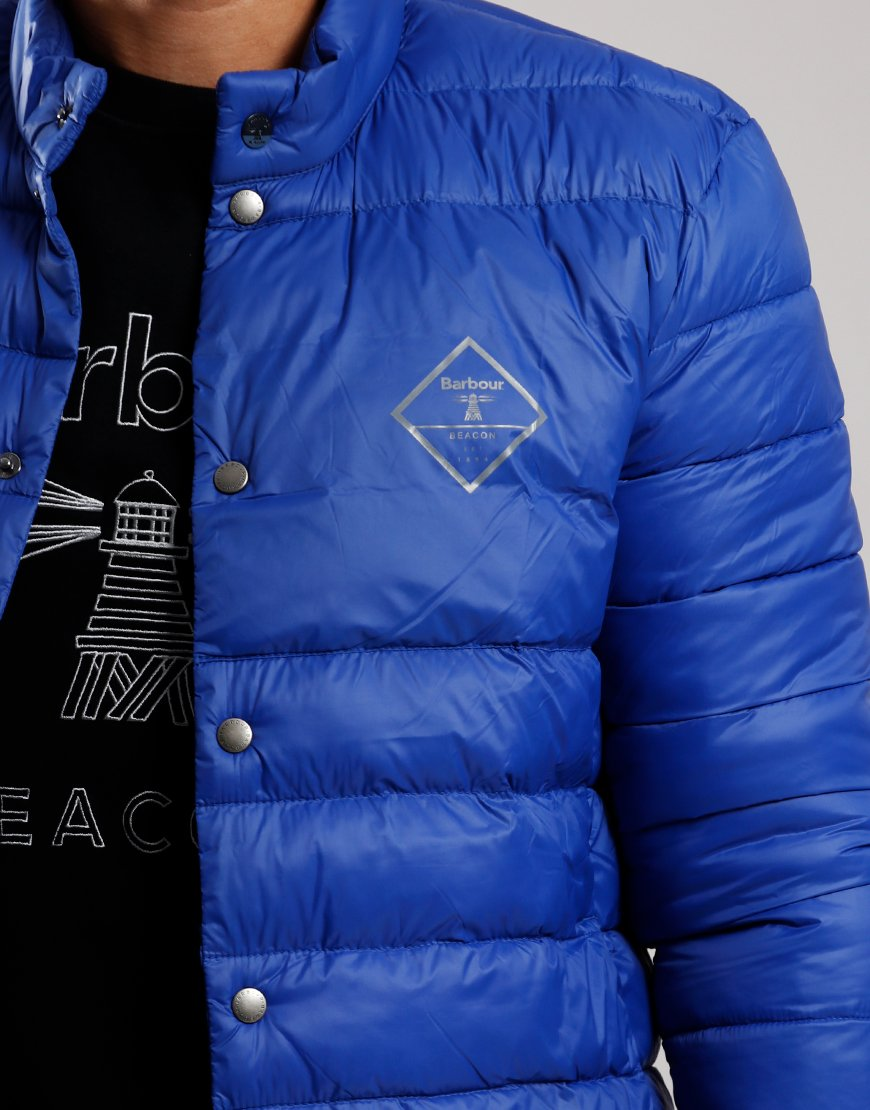 Barbour Beacon Sergeant Quilted Jacket Charge Blue