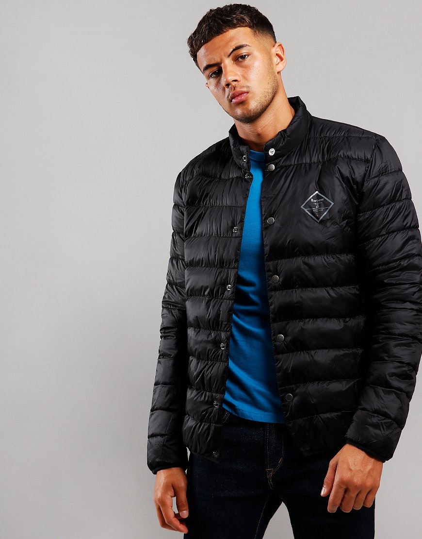 Barbour Beacon Sergeant Quilted Jacket Black