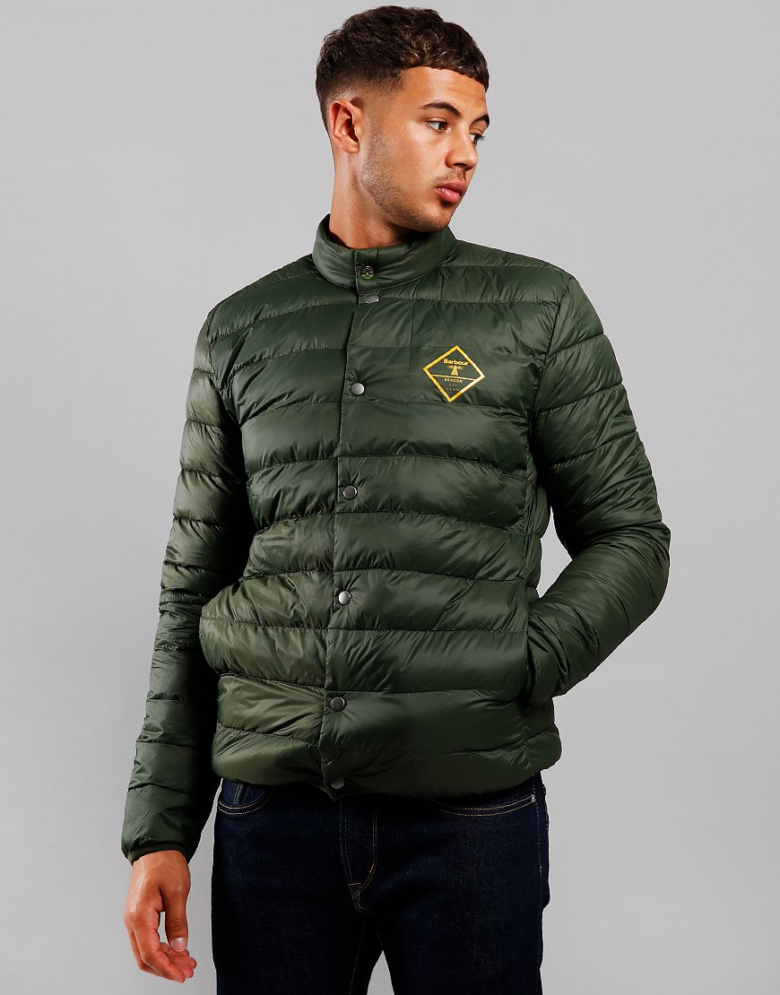 Barbour Beacon Sergeant Quilted Jacket Sage/Smoke