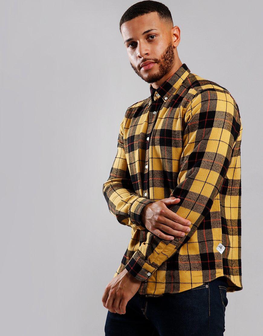 Barbour Beacon Span Long Sleeve Shirt Golden