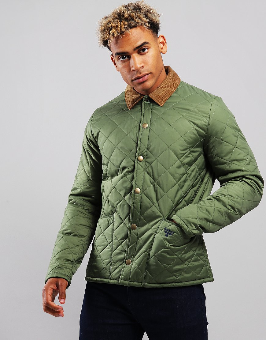 Barbour Beacon Starling Quilted Jacket Moss