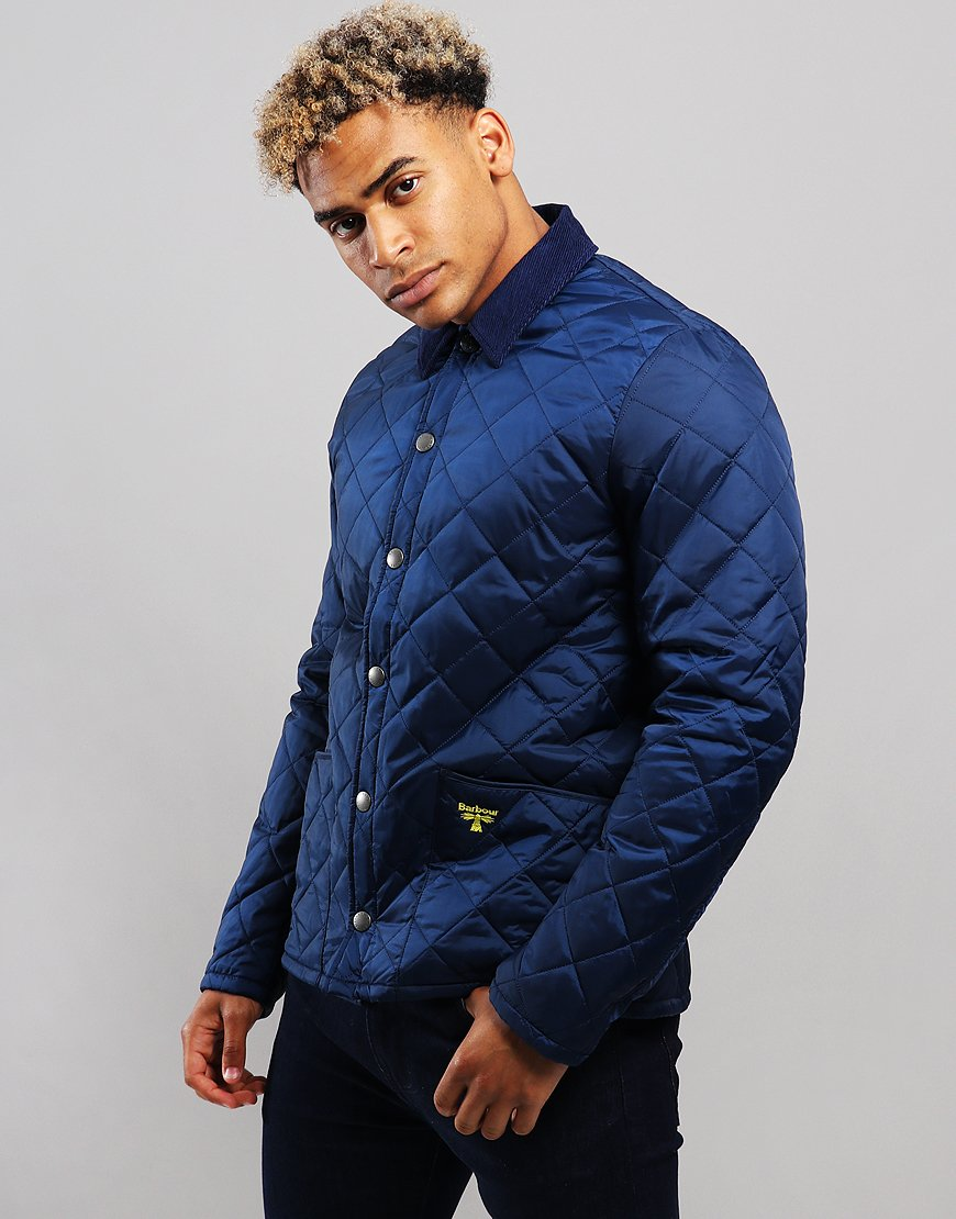 Barbour Beacon Starling Quilt Jacket Regal Blue