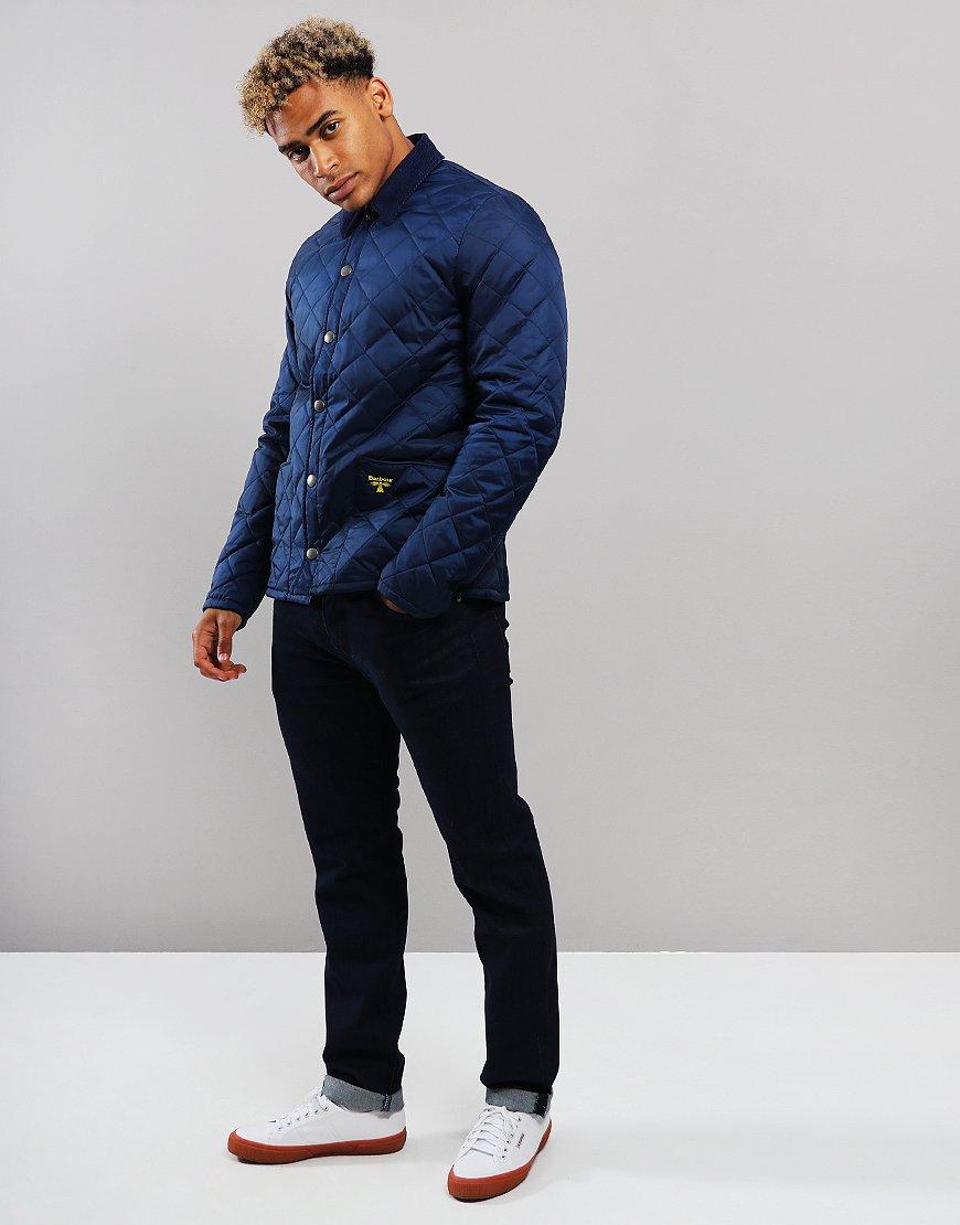 Barbour Beacon Starling Quilt Jacket Regal Blue