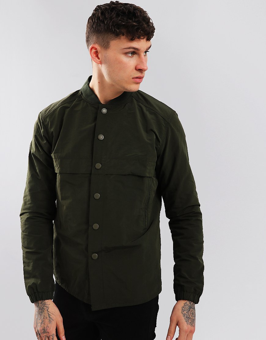 Barbour Beacon Stroud Overshirt Forest