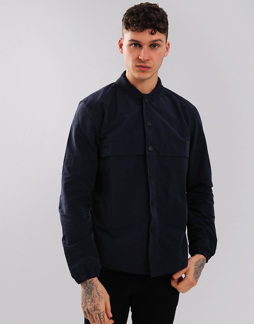 Barbour Beacon Stroud Overshirt Navy