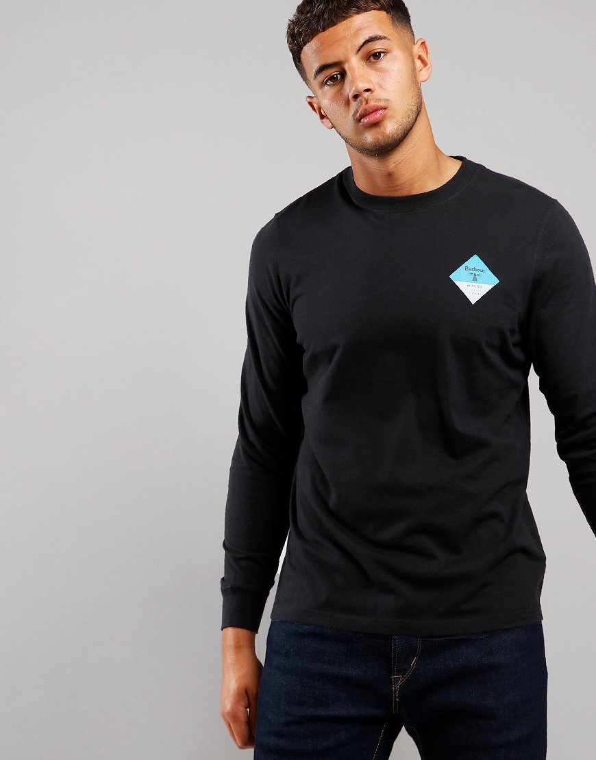 Barbour Beacon Switch Long Sleeve Switch T-Shirt Black
