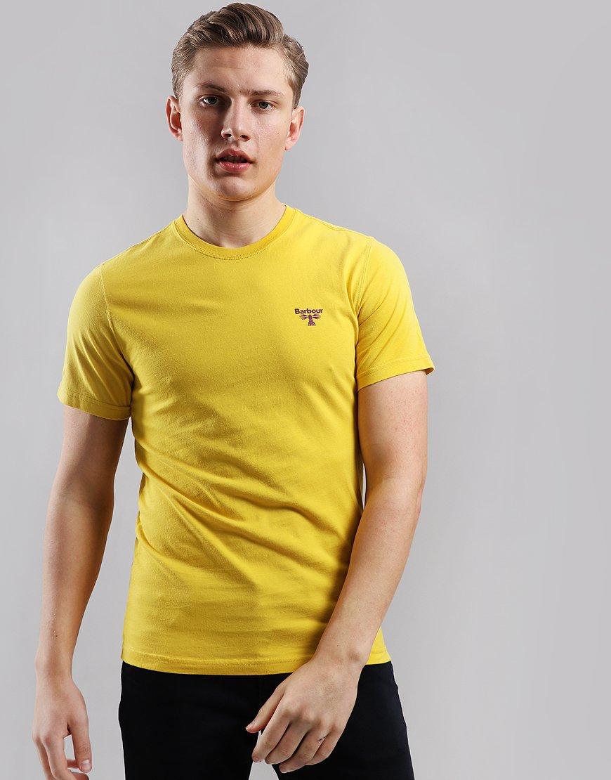 Barbour Beacon Logo T-Shirt  Sulphur