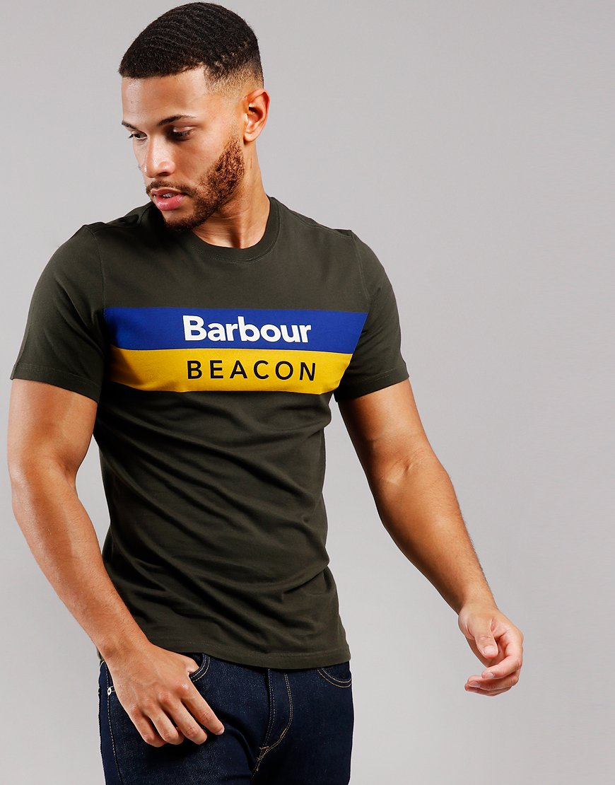 Barbour Beacon Wray T-Shirt Sage