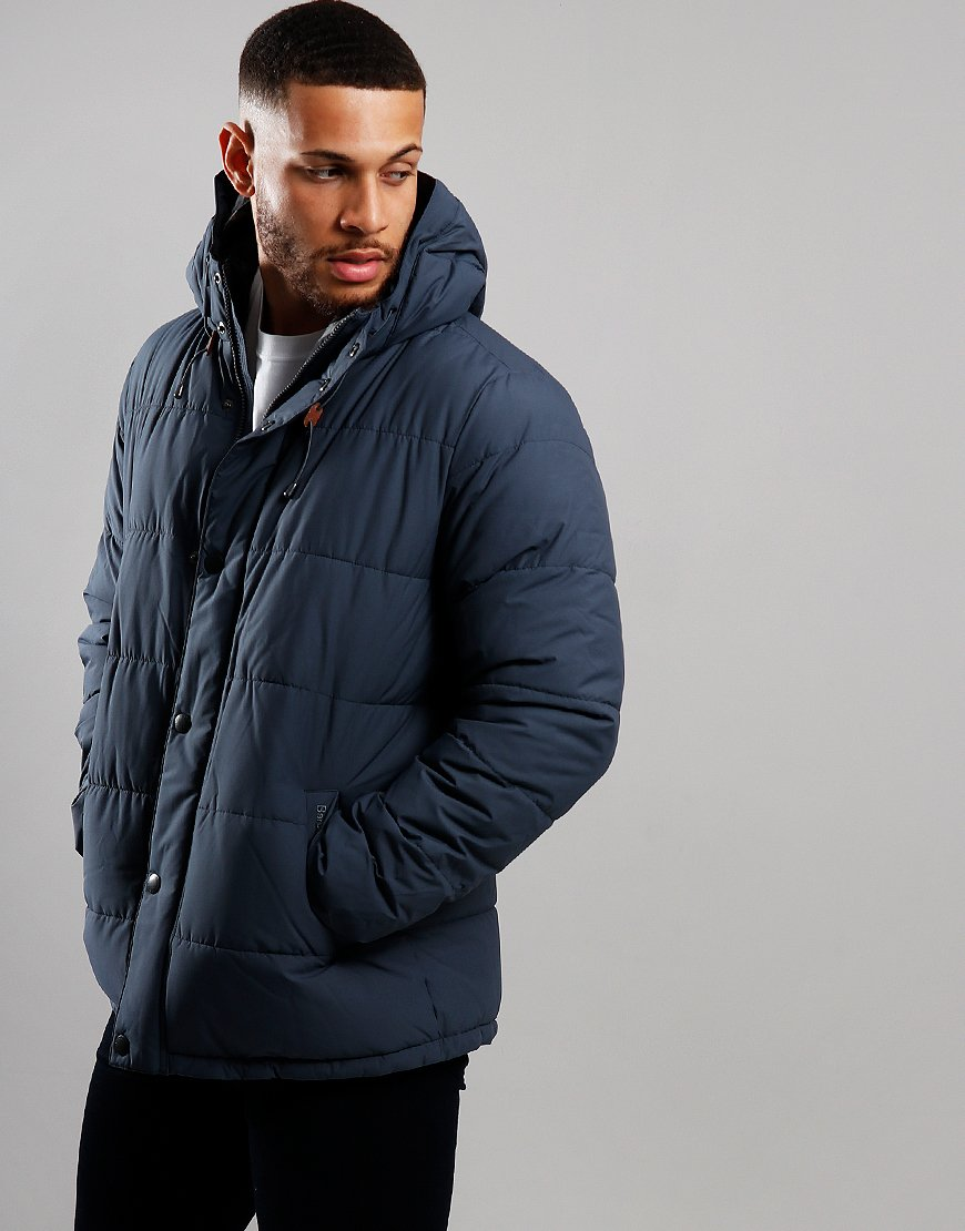 Barbour Beeston Quilted Jacket Moody Blue