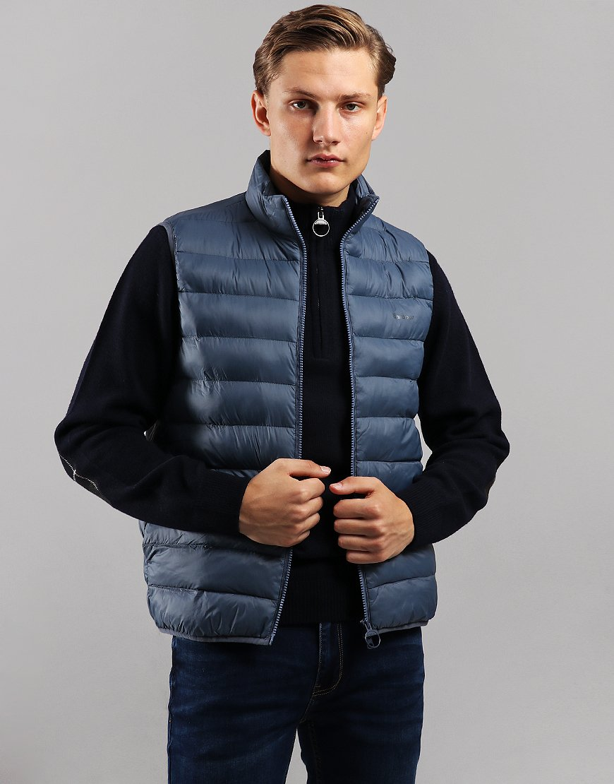 Barbour Bretby Quilted Gilet Moody Blue