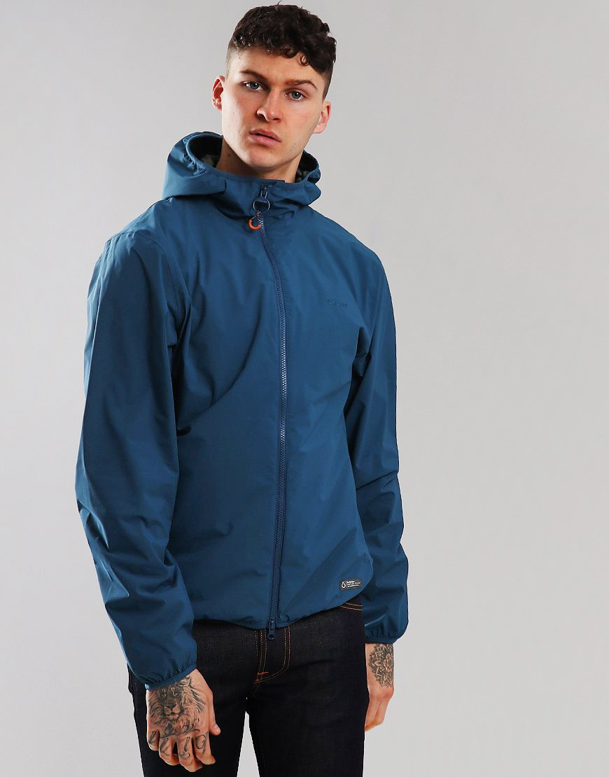 Barbour Cairn Jacket Peacock
