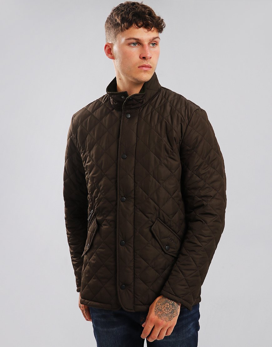 Barbour Chelsea Quilted Jacket Olive
