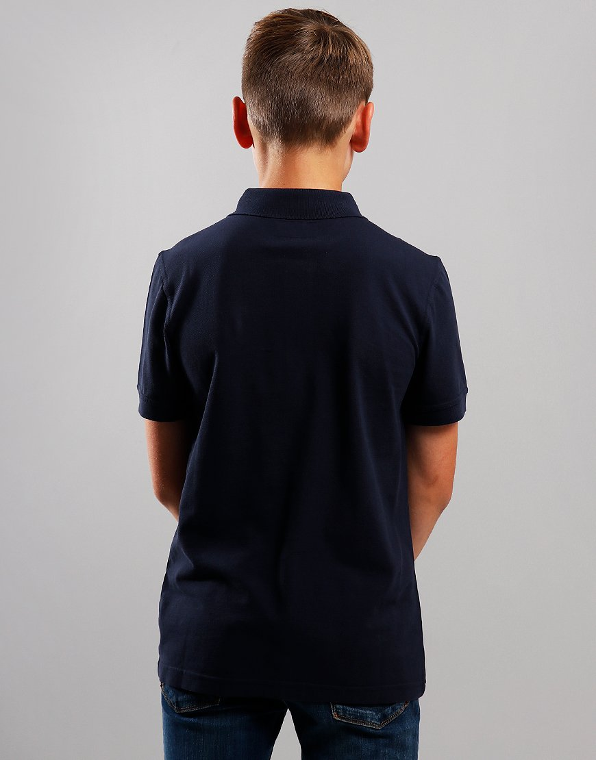Barbour Children Essential Polo Shirt Navy