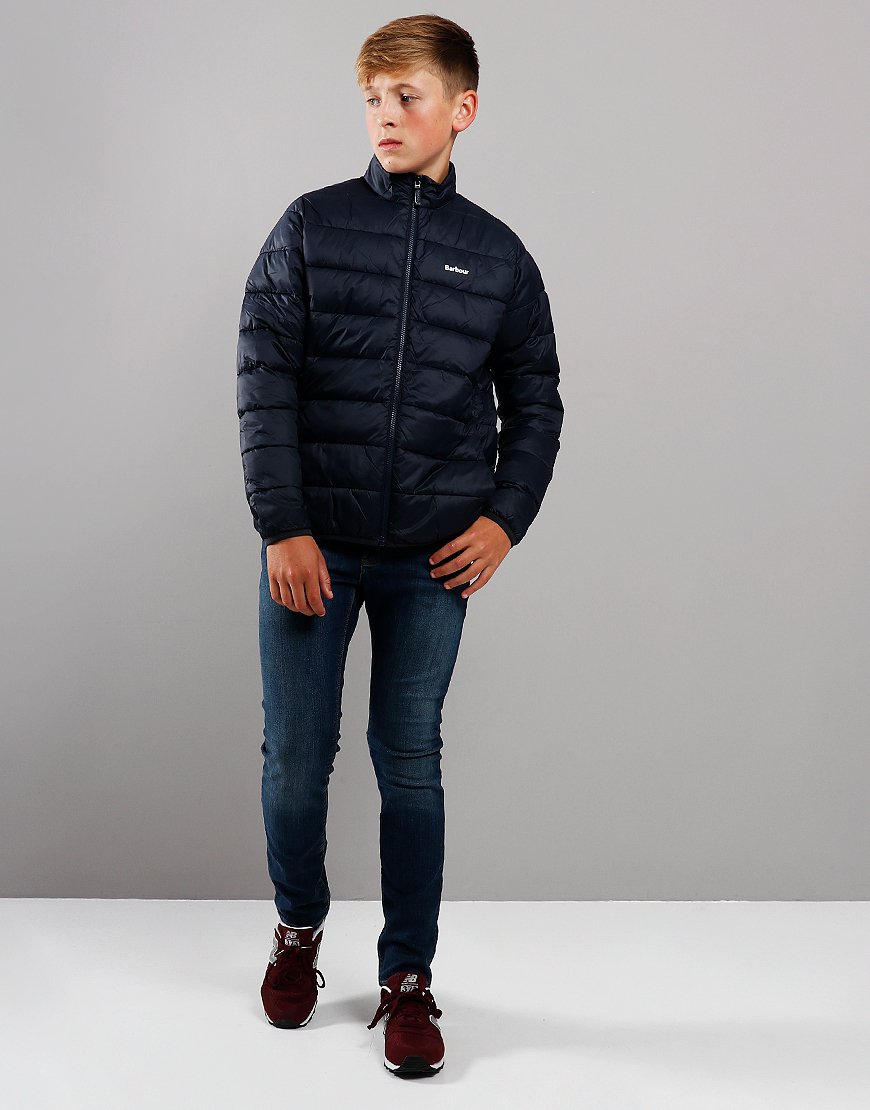 Barbour Children Penton Quilted Jacket Navy