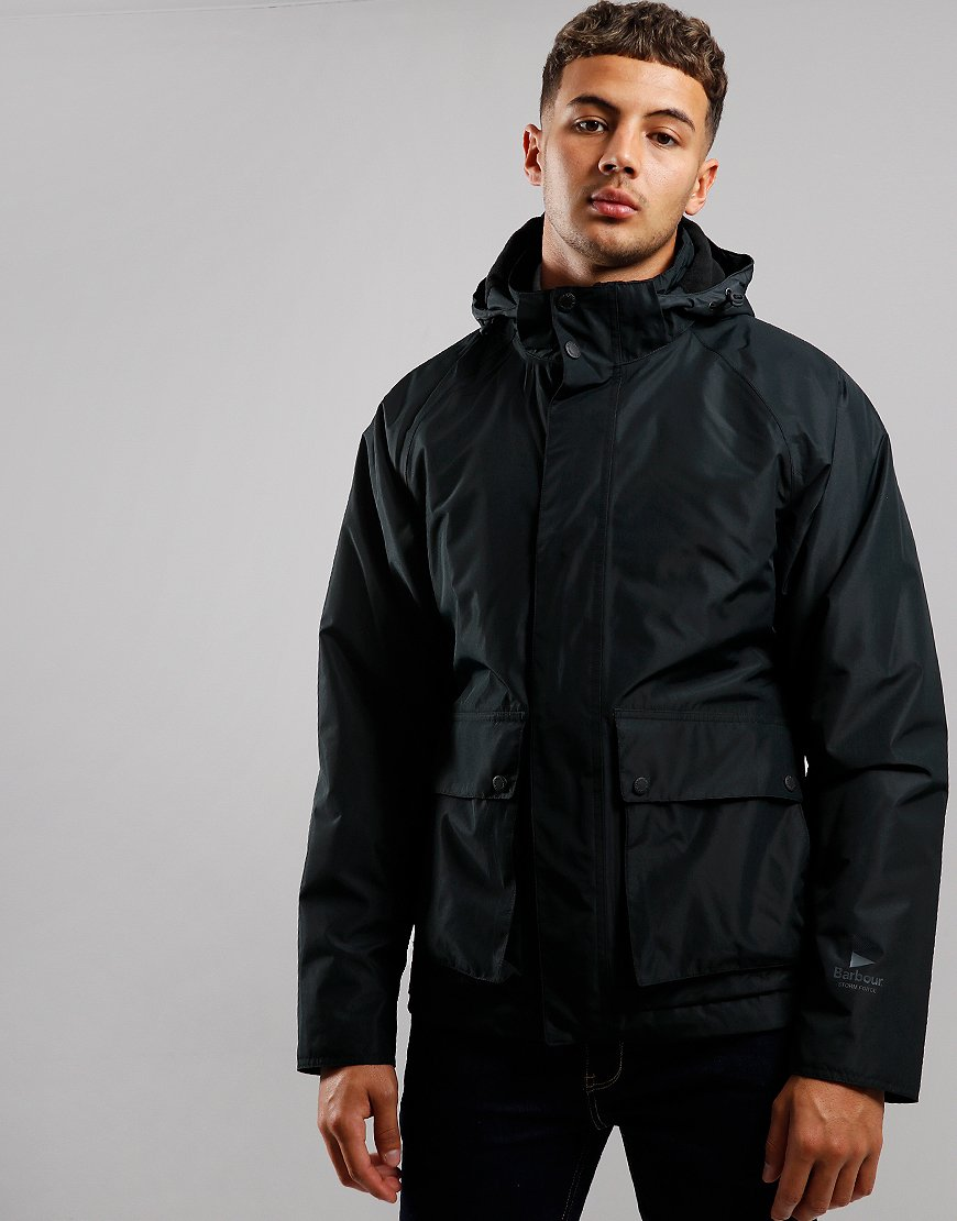 Barbour Cirrus Waterproof Jacket Black