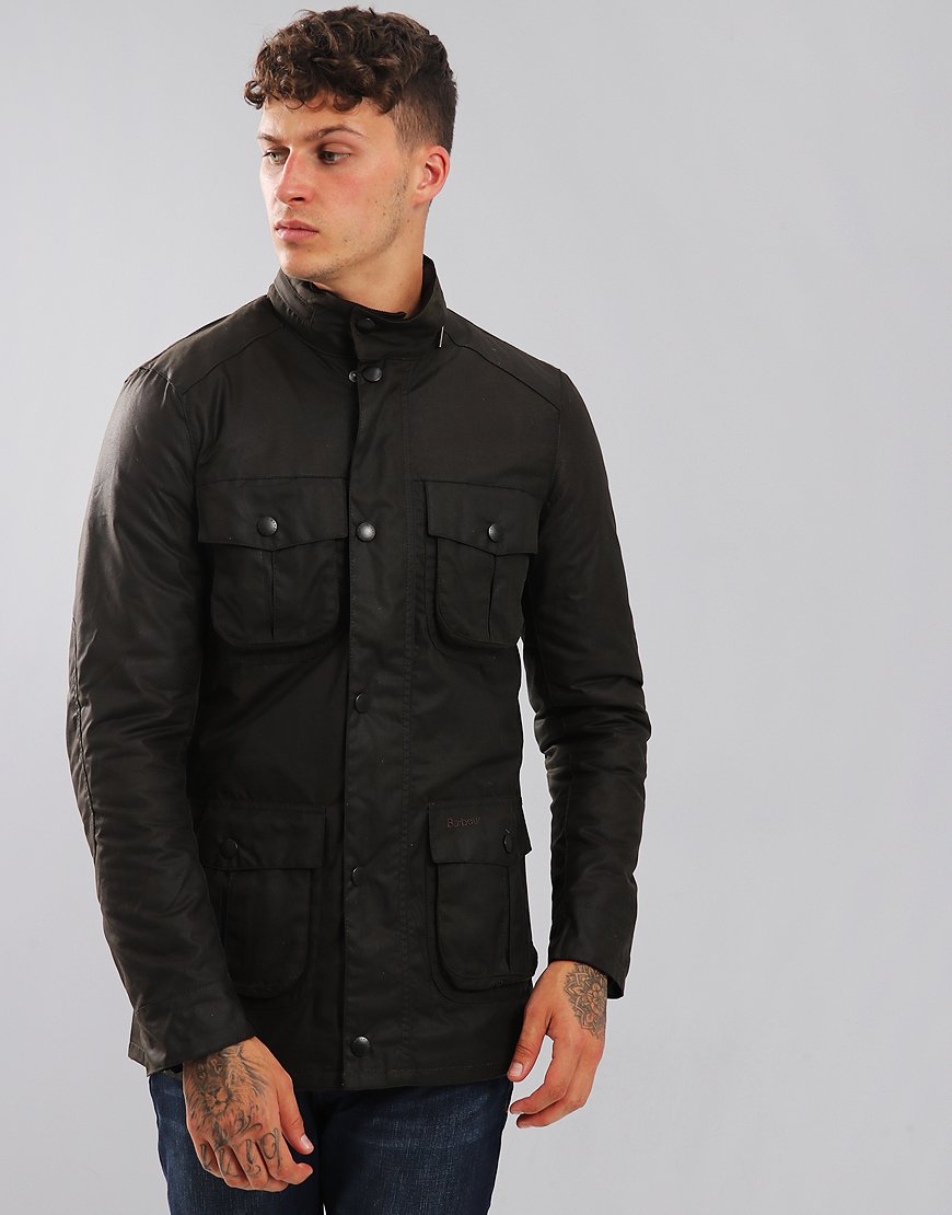 Barbour Corbridge Wax Jacket Olive