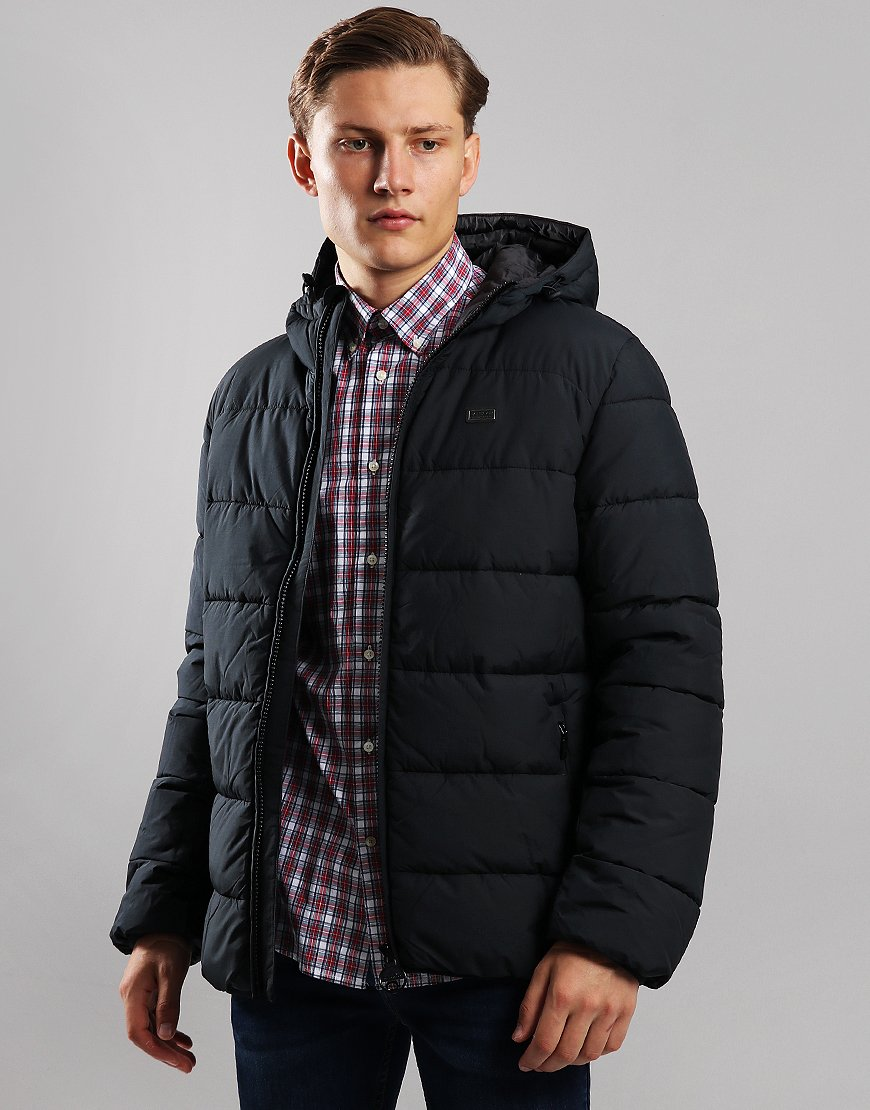 Barbour International Court Quilted Jacket Black