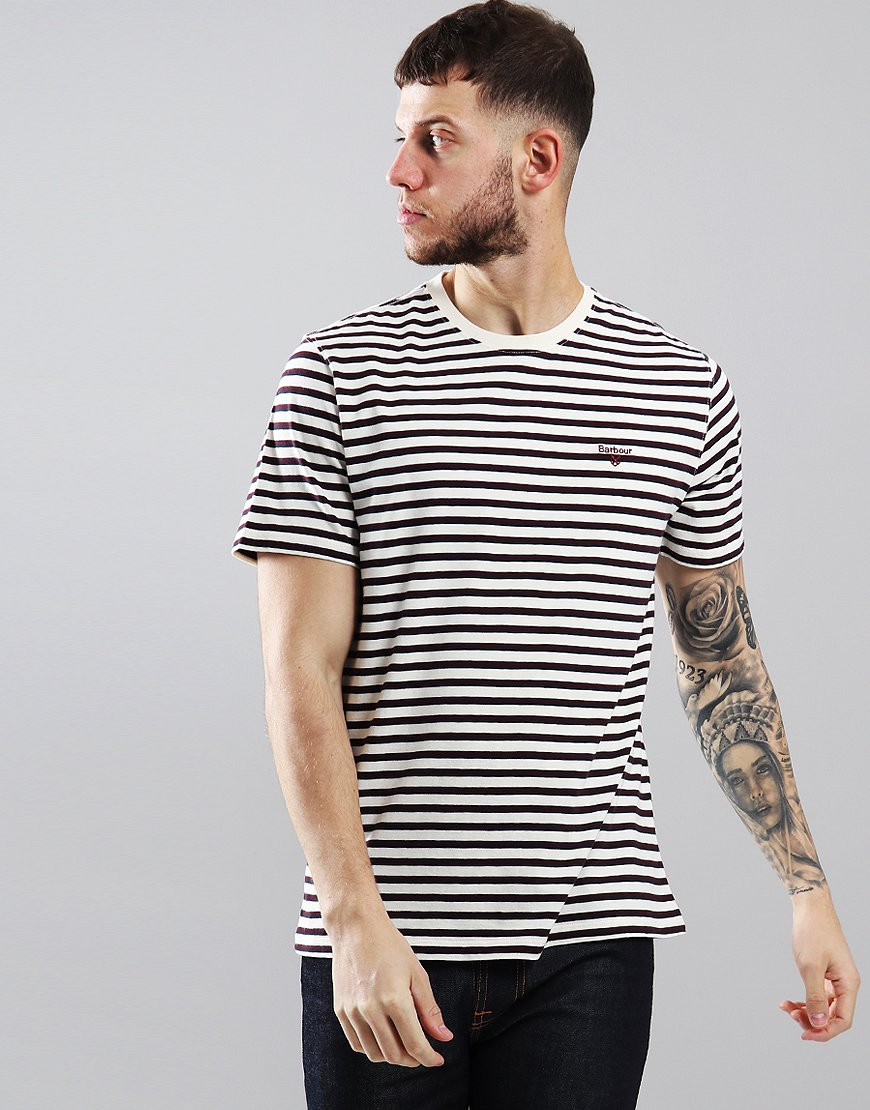 Barbour Crane T-Shirt Ruby