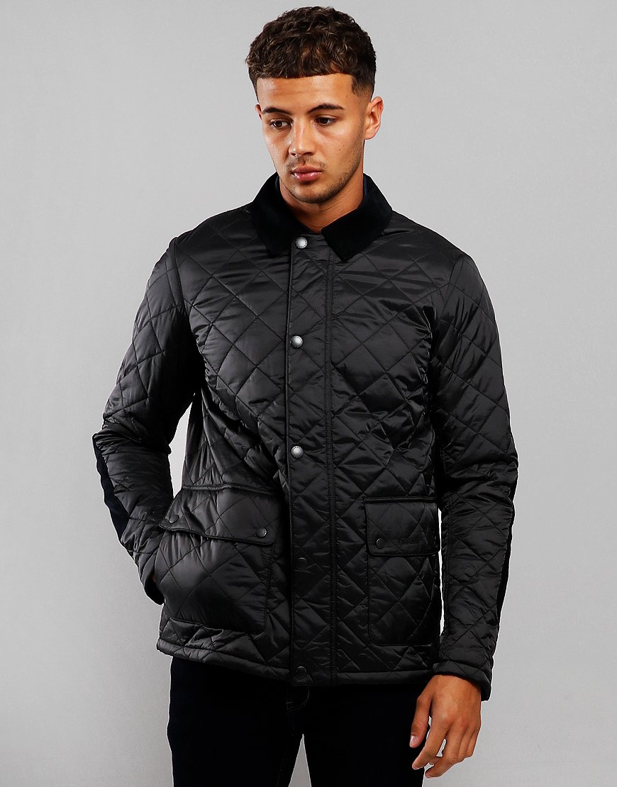 Barbour Diggle Quilted Jacket Black