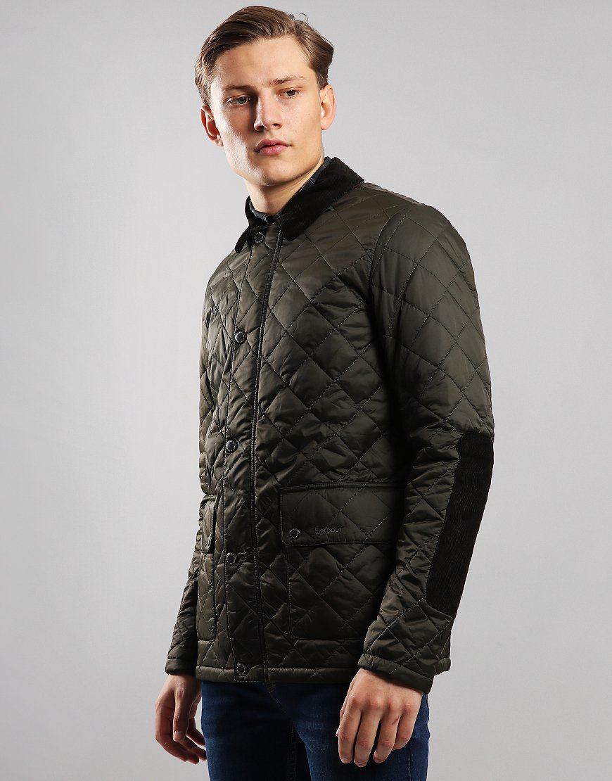 Barbour Diggle Quilted Jacket Olive