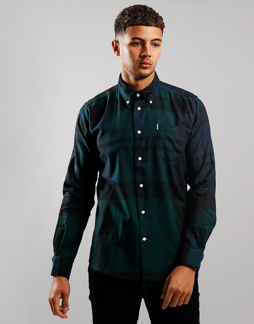 Barbour Dunoon Long Sleeve Shirt Black Watch Tartan