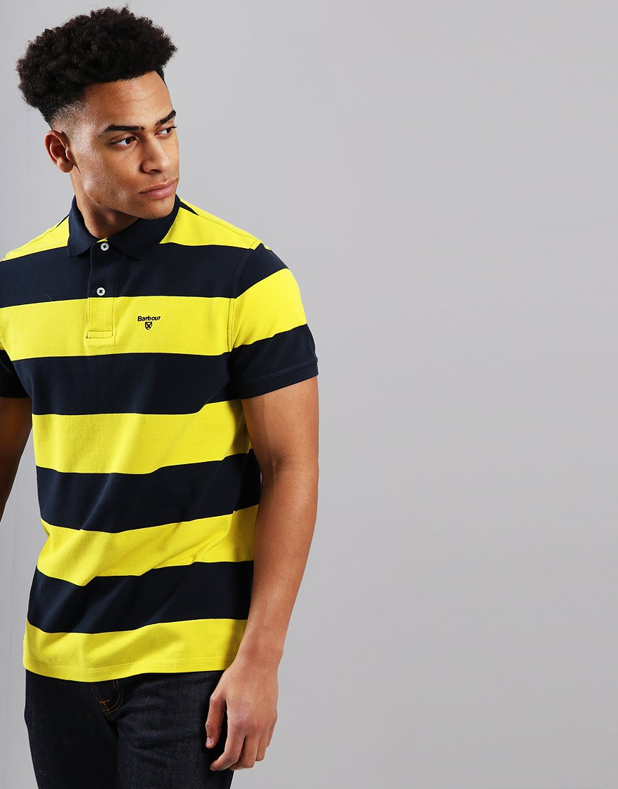 Barbour Harren Polo Shirt Empire Yellow