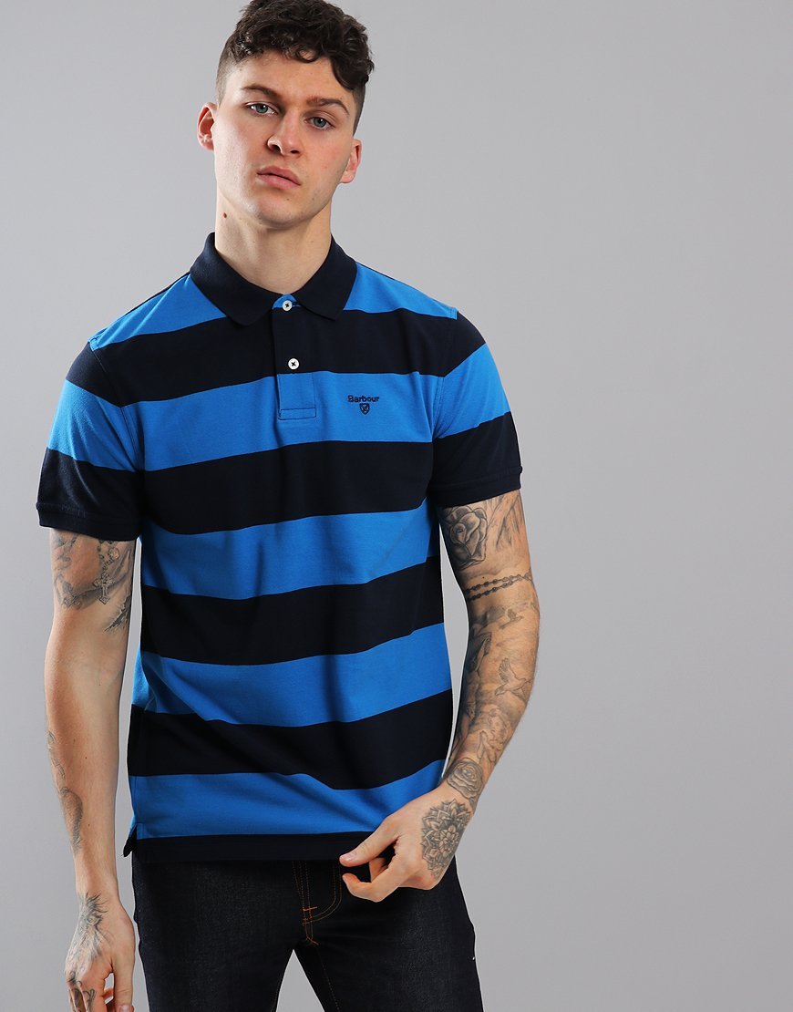Barbour Harren Polo Shirt Sport Blue
