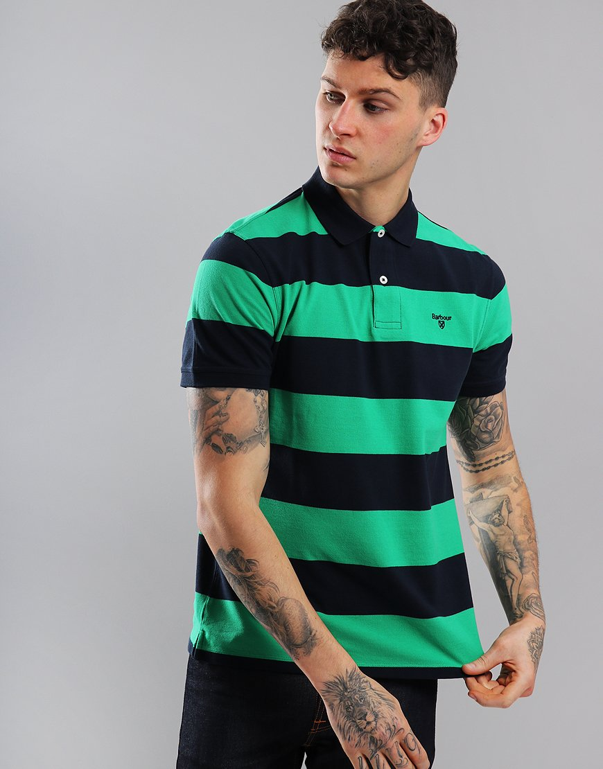 Barbour Harren Polo Shirt Bright Green