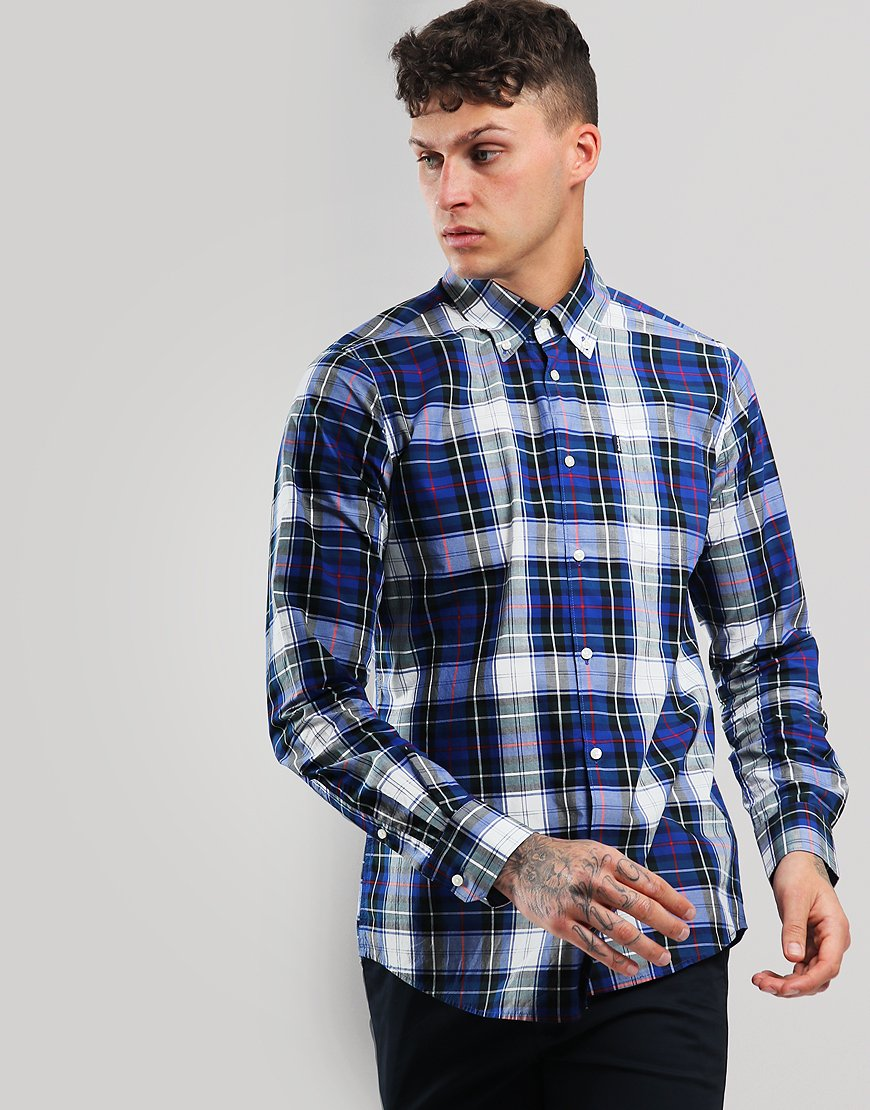 Barbour Highland 5 Long Sleeve Electric Blue