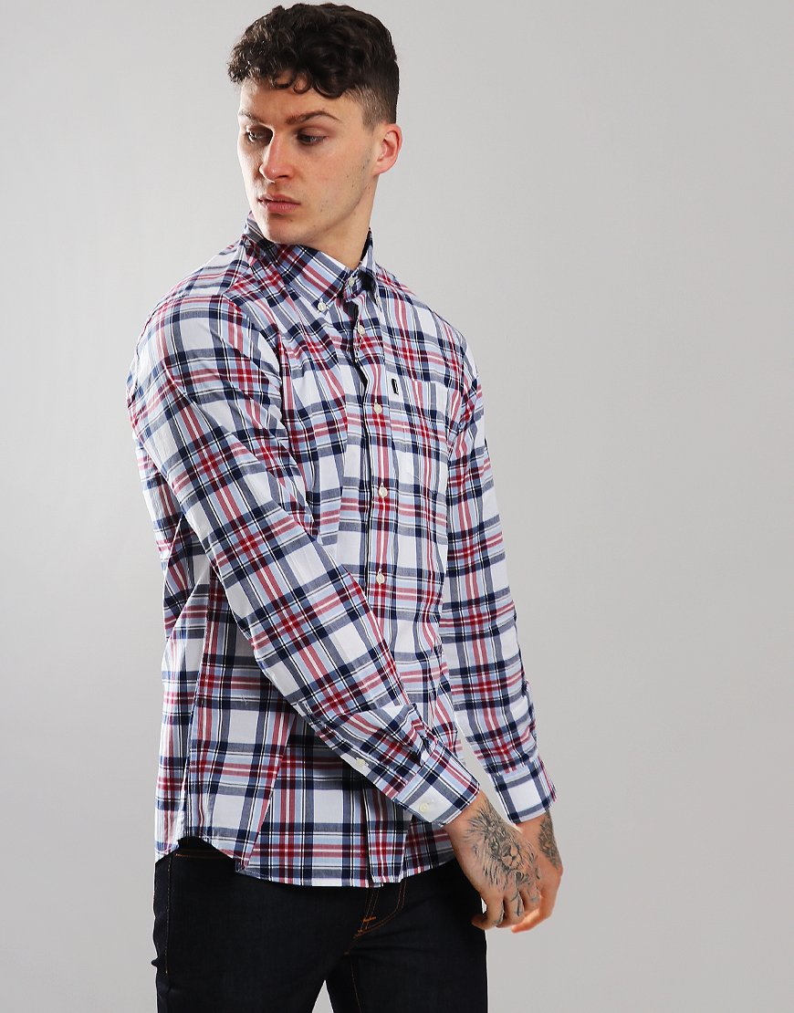 Barbour Highland 6 Long Sleeve Shirt Sky