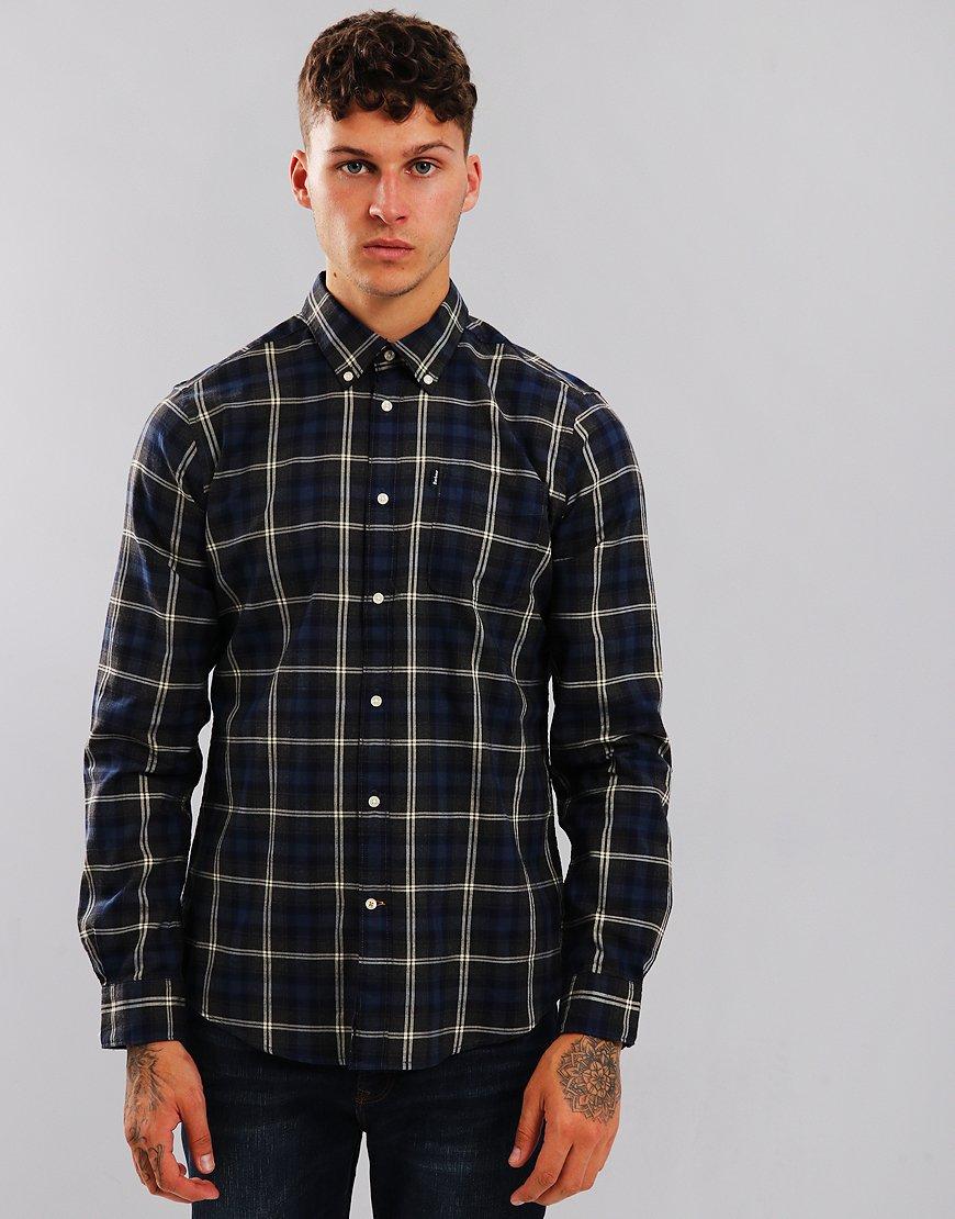 Barbour Endsleigh Highland Check Shirt Charcoal