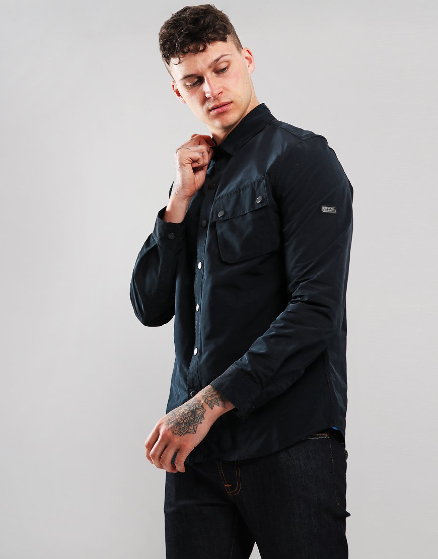 Barbour International Control Overshirt Black