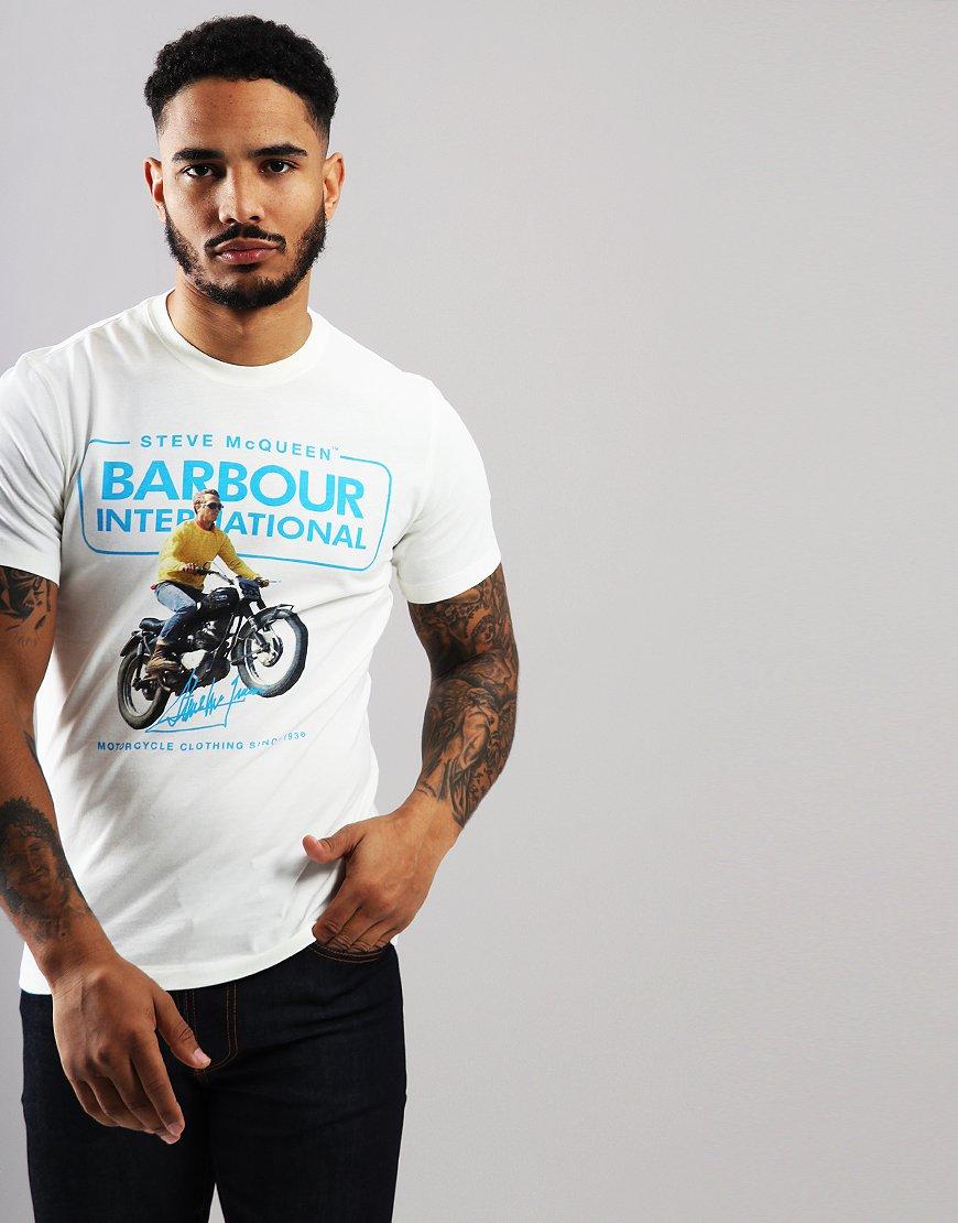 Barbour International Cooler T-shirt Whisper