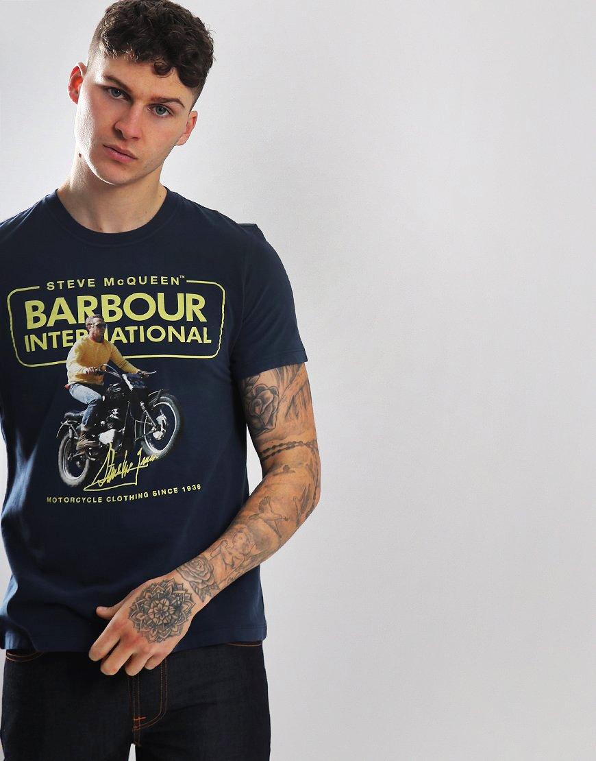 Barbour International Cooler T-shirt Dress Blue