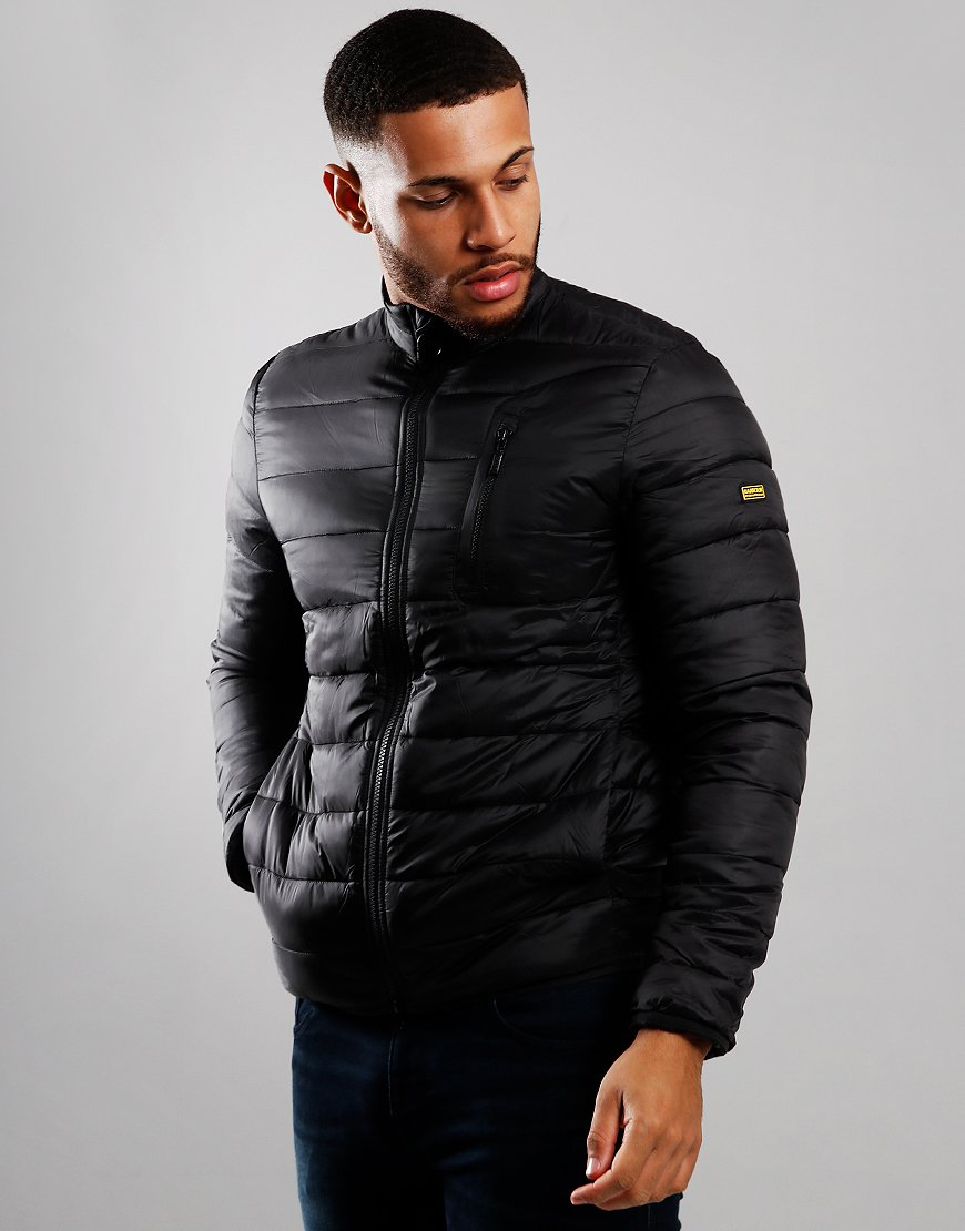 Barbour International Farlam Quilted Jacket Black