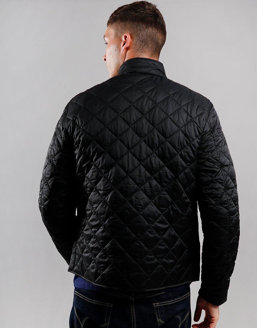 Barbour International Gear Quilted Jacket Black