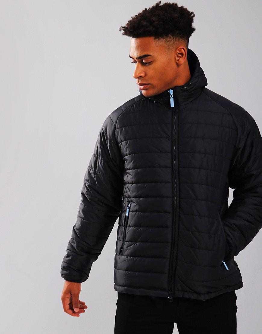 Barbour International Locking Hood Jacket Navy
