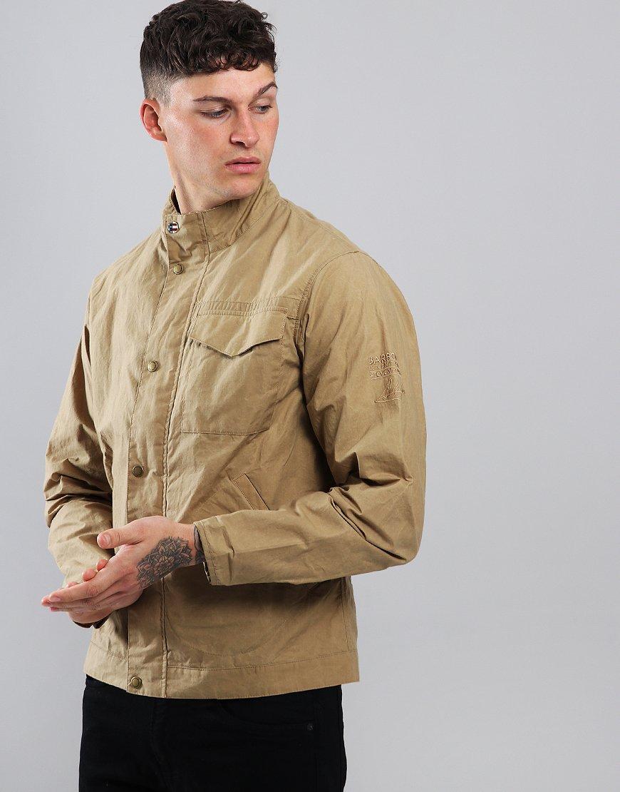 Barbour Steve McQueen Major Wax Jacket Golden Khaki