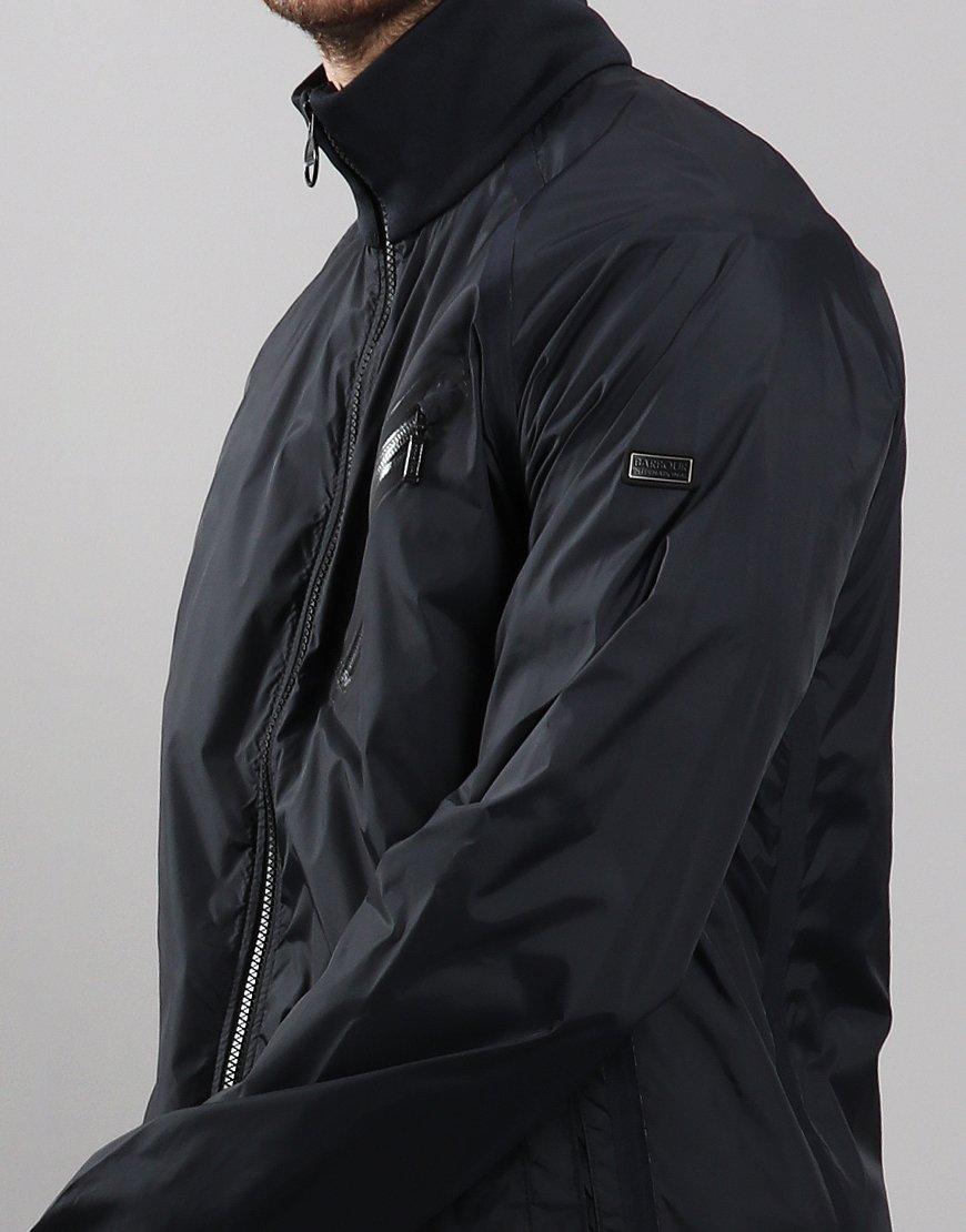 Barbour International Optic Cavalnt Lightweight Jacket Black