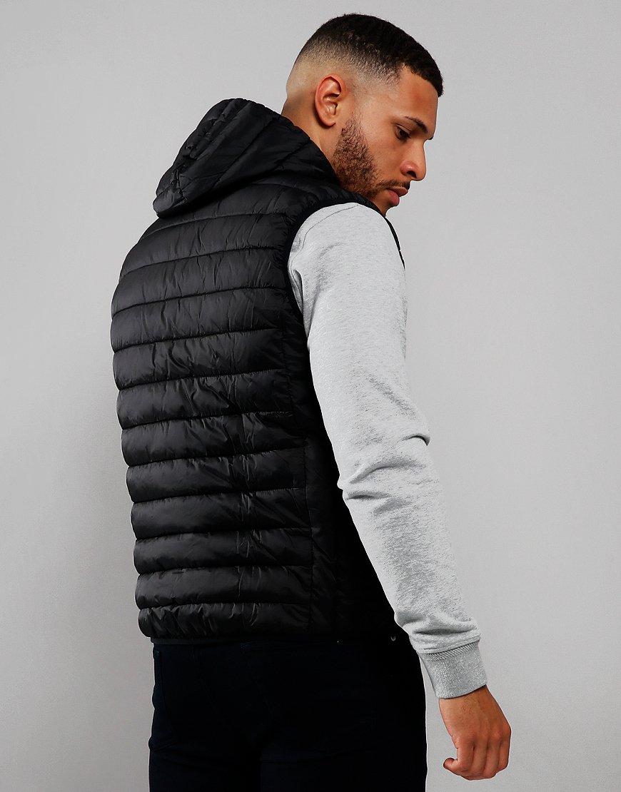 Barbour International Ouston Hooded Gilet Black