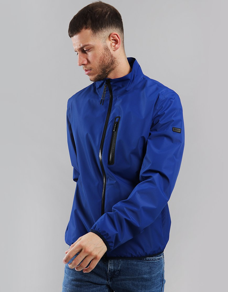Barbour International Ranson Jacket Charge Blue