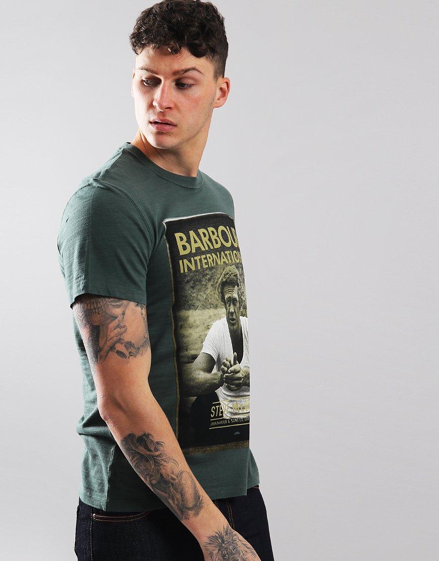 Barbour International Relax T-Shirt Washed Khaki